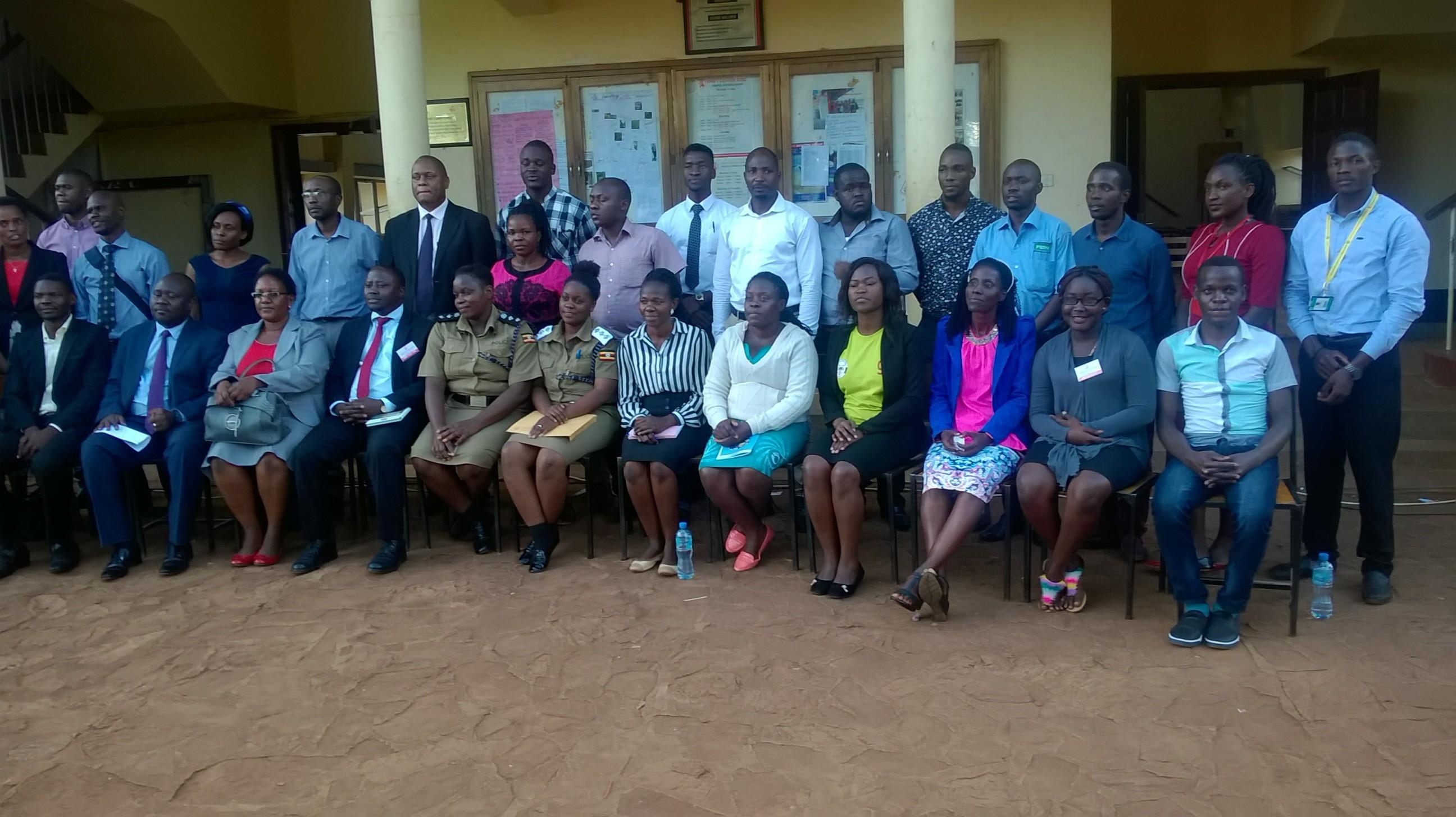 Exhibitors of the King`s College Budo 2018 Careers Day.