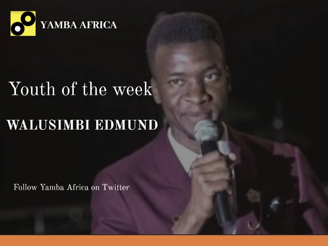 Edmund is featured as Youth of the Week by Yamba Africa.
